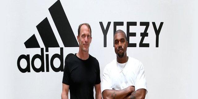 kanye west adidas history